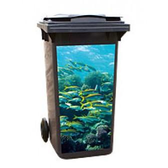 Aufkleber 140-1 - Aquarium