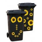 Aufkleber 1018 - Sonnenblumen-Sticker