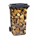 Aufkleber 1011 - Holzstapel