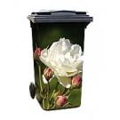 Aufkleber 1004 - Weiße Rose